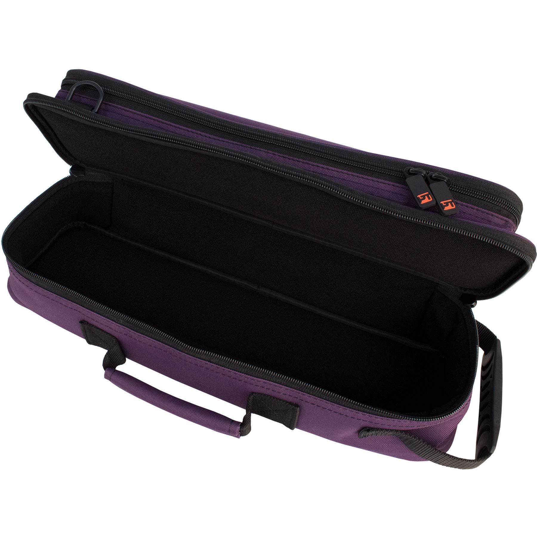 Protec A308PR - Estuche para flauta travesera, color violeta: Amazon.es: Instrumentos musicales