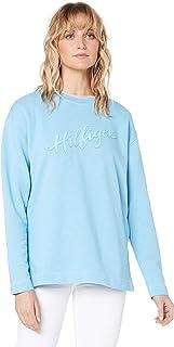 TOMMY HILFIGER Women's Pure Cotton Signature Logo Sweatshirt