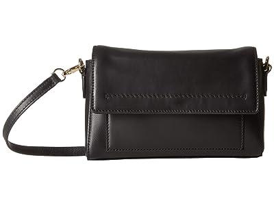 Cole Haan Kaylee Convertible Crossbody (Black) Bags