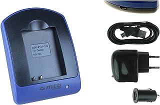 Cargador (USB/Coche/Corriente) para NB-10L / Canon PowerShot G15 G16 G1 X G3 X SX40 HS SX50 HS SX60 HS