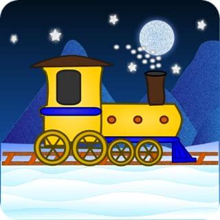 Polar Train Christmas Wallpaper HD