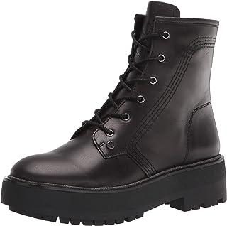 حذاء برقبة حتى منتصف الساق من Franco Sarto للنساء، أسود، 6