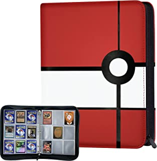 Nirttoth 720 Pockets Baseball Card Binder Compatible with Pokemon Cards,Trading Card Binder Card Protectors for Yugioh, MT...