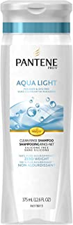 Pantene Pro-V Aqua Light Clean Rinse Shampoo 12.6 Fluid Ounce (Pack of 2) (packaging may vary)