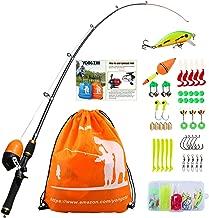 Best orange fishing pole Reviews