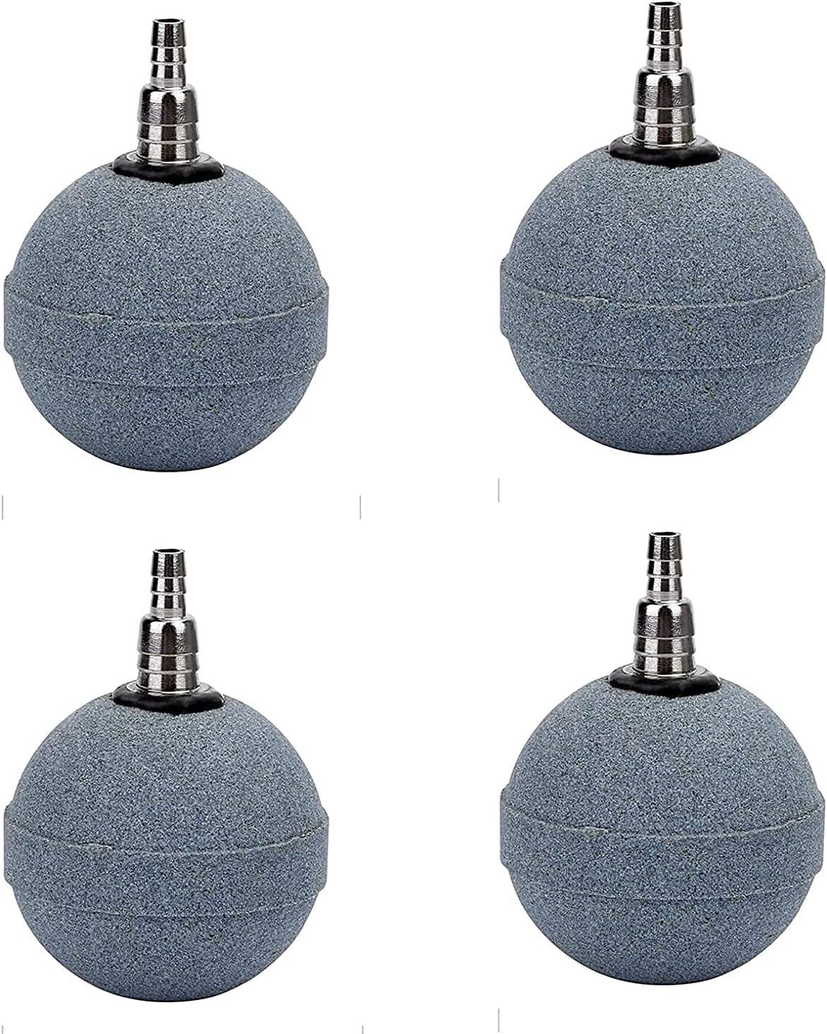 4Pcs 2 Inch Crazy Air Stone List specialty shop price Bubble Aerator Pump Diffuser Ac