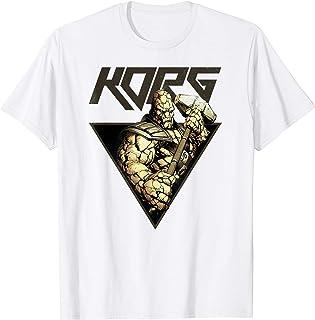 Marvel Korg Comic Triangle Character Profile T-Shirt