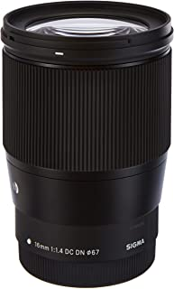 Sigma 16 mm f/1.4 (C) AF DC DN Lens for Canon EF-M X Mount, Mirrorless