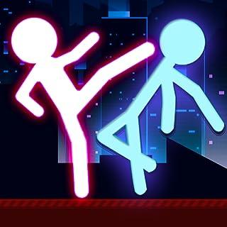 Stickman Fighting 2 Player Warriors Physics Games