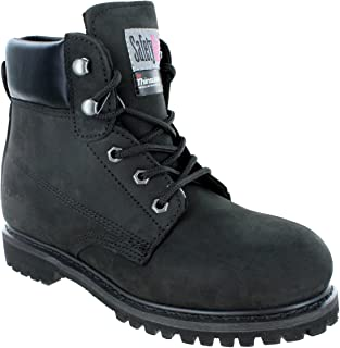 Safety Girl II Insulated Work Boot - Black Steel Toe