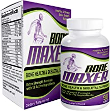 Sponsored Ad - Bone-Maxer: Bone Health Skeletal Support Supplement - Natural Bone Supplements/Pills - 90 Tablets