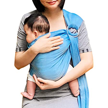 Quick Dry Breathable Gray Vlokup Baby wrap Water Sling Infant Carrier Warm Weather Lightweight