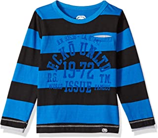 Marc Ecko Baby Boys' Toddler Long Sleeve Striped T-Shirt