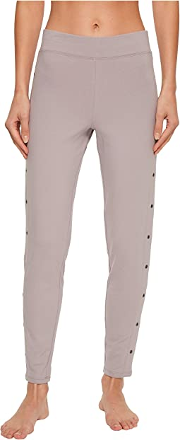 Yummie - Compact Cotton Ankle Leggings with Grommets