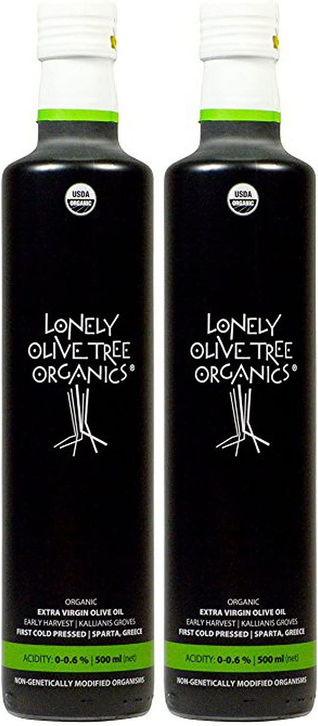 Lonely Olive Max 56% OFF Tree Organic Extra 500ml Virgin Max 77% OFF 2-Pack - Oil