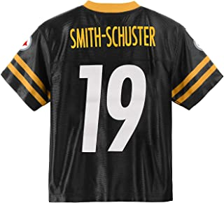 Outerstuff Juju Smith-Schuster Pittsburgh Steelers #19 Black Youth Home Player Jersey