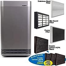 NuWave OXYPURE Smart Air Purifier for Large Area; Capture and Eliminate Smoke, Dust, Pollen, Mold, Pet Dander, Allergens, Lead, Formaldehyde, Gases, VOCs & Germs