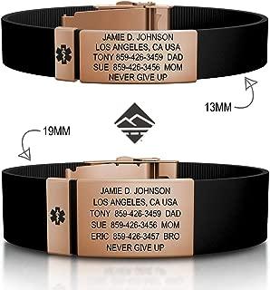 Best my road id bracelet Reviews