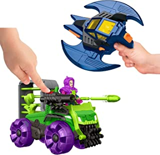 Fisher-Price Imaginext DC Super Friends, Batman and Batwing with Joker Figure AND Lex Hauler and Superman Vehicle & Figures.