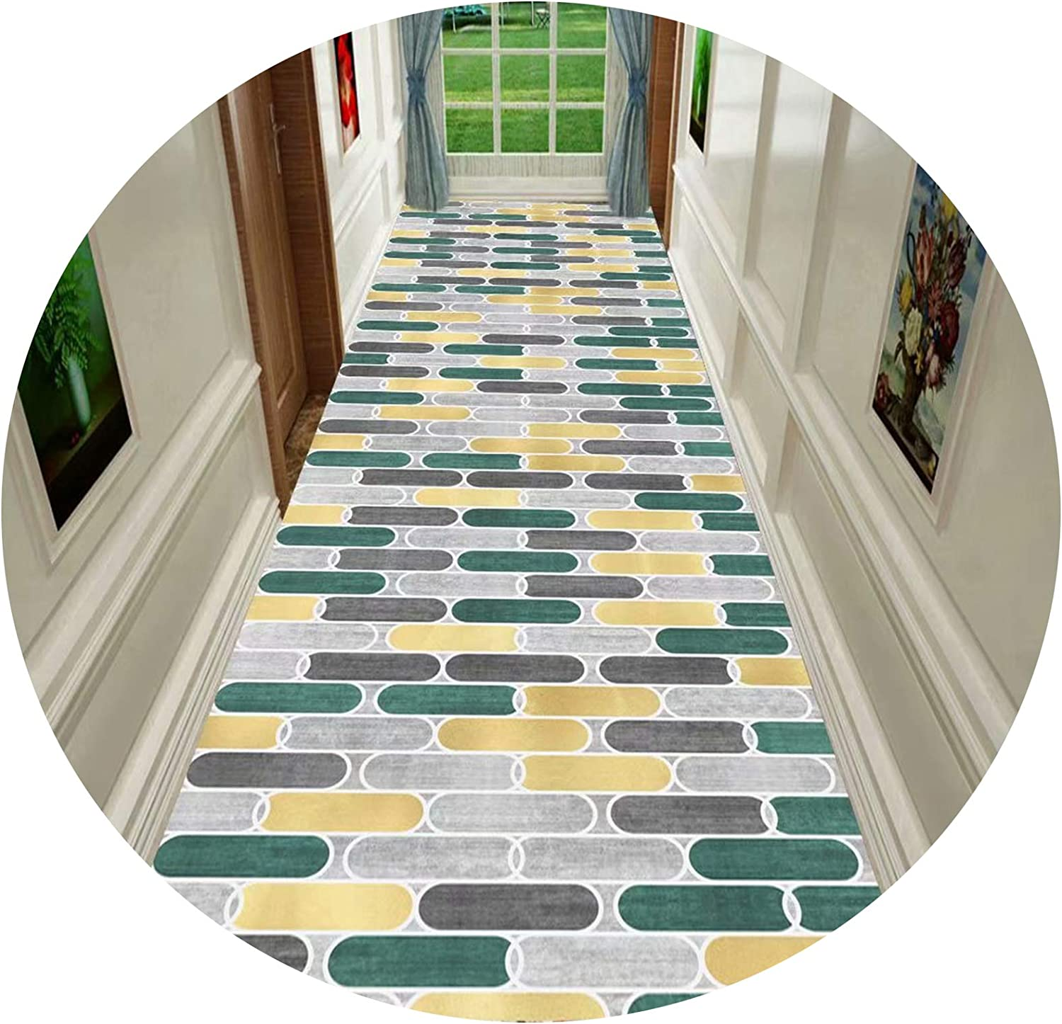 Aon-MX 3D Washable Runner Rug for Max 73% OFF with 6mm Entrance Max 46% OFF Hallway Mat