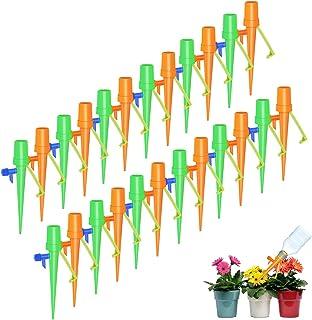 Cabilock 2Pcs Dessin Anim/é Automatique Fleur Goutte /à Goutte Arrosage Pointes Jardin Lion Hippopotame en Forme de Plante Dispositif Darrosage en C/éramique Syst/èmes Dirrigation
