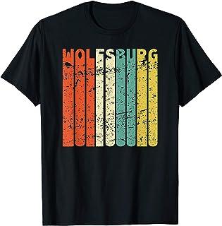 Retro Wolfsburg Einwohner Stadt Wolfsburger T-Shirt