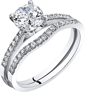 Best discount white gold wedding bands Reviews