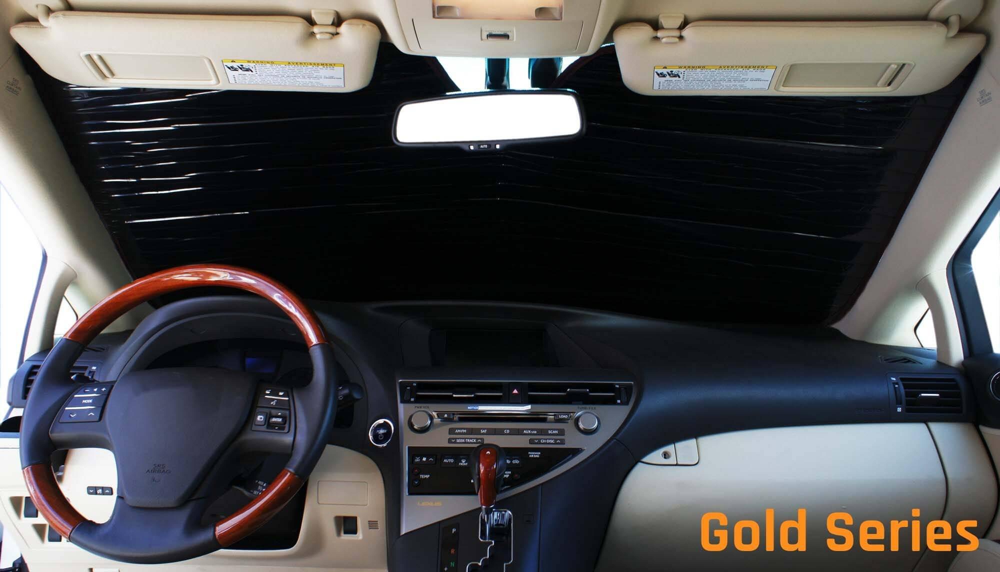 Laminate Material 1 Pack Covercraft UV11426BL Blue Metallic UVS 100 Custom Fit Sunscreen for Select Toyota Tacoma Models