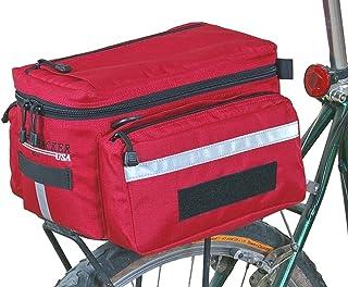 Bicycle Frame Bag w// Reflective Trim Cycling Trian... Bushwhacker Laredo Black