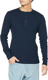 [ヘインズ] ビーフィー (HM4-S104) ヘンリーネック tシャツ BEEFY-T ロンt