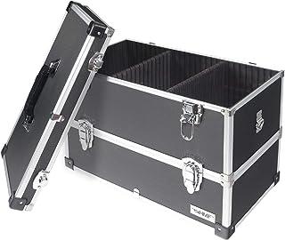 comprar comparacion HMF 14660900 - Maletín de herramientas de aluminio, vacío, con separadores individuales, estantes a elegir, color negro