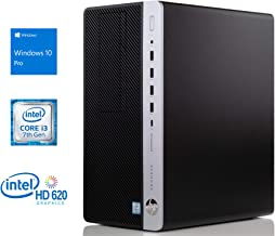 HP Business Desktop ProDesk 600 G3 Desktop Computer - Core i3 i3-7100 - 4 GB RAM - 500GB HDD Micro Tower