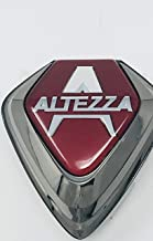 Toyota 2000 to 2005 Lexus IS300 Front Grill Altezza Emblem Red Badge Genuine OEM JDM