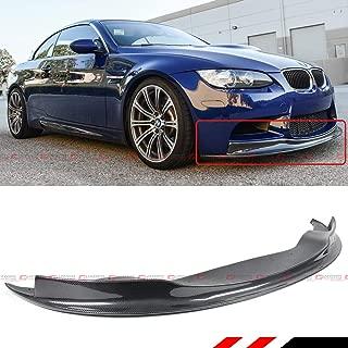 Fits for 2008-2013 BMW E92 E93 M3 Coupe E90 M3 Sedan ARK Style Carbon Fiber Front Bumper Lip Spoiler Splitter