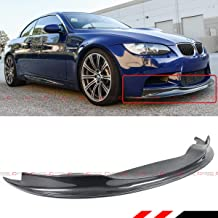 Fits for 2008-2013 BMW E92 E93 M3 Coupe E90 M3 Sedan ARK Style Carbon Fiber Front Bumper Lip Spoiler Splitter