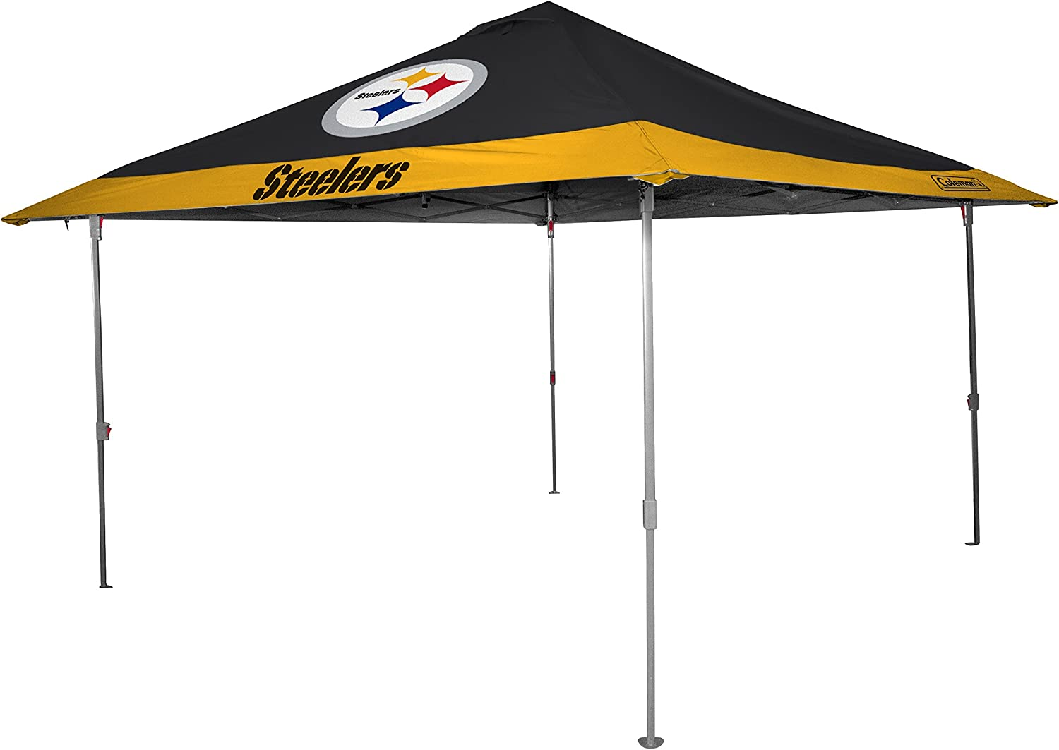 (Pittsburgh Steelers)  Rawlings NFL 10x10 Eaved Canopy (All Team Options)