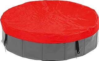 Karlie 31809 Doogy Pool Cubierta Piscina- Rojo- O 160 cm- L