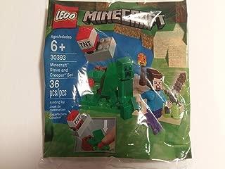 LEGO Minecraft Steve and Creeper Set polybag (30393)