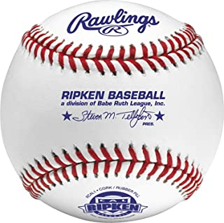 Rawlings Cal Ripken Competition Grade Youth Baseballs, Box of 12 Balls, RCAL1