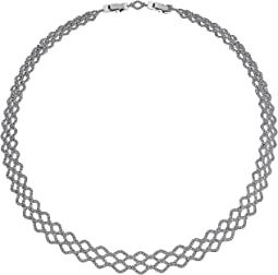 Swarovski - Lace Wide Necklace