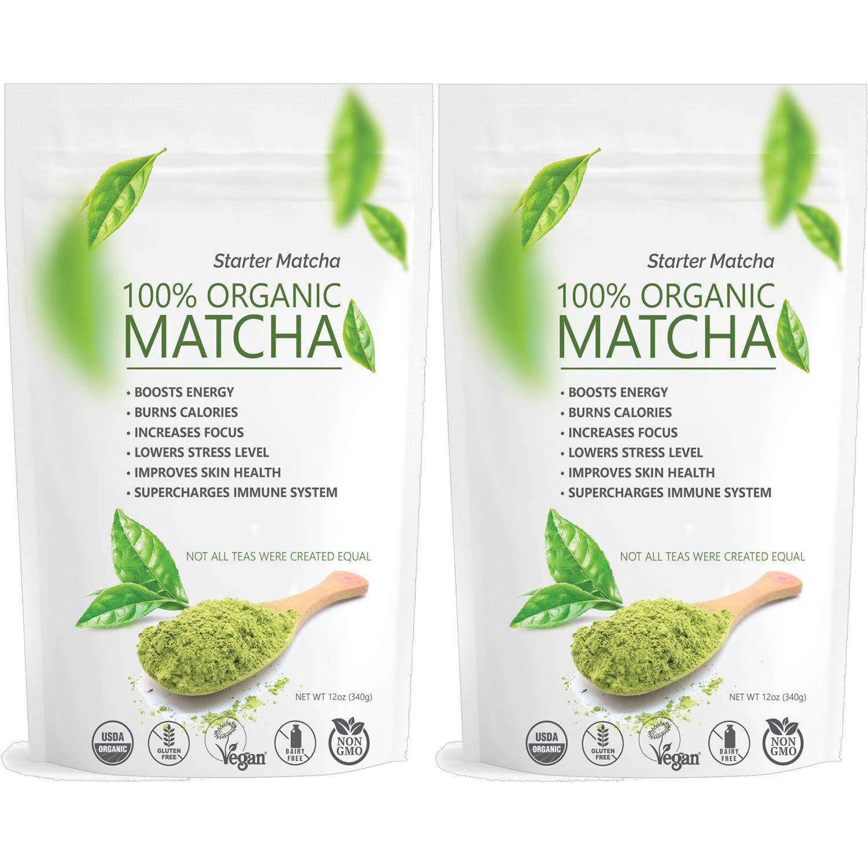 Inexpensive Starter Matcha Classic Organic Green Tea Powder Culinary Grade 2x - 12oz