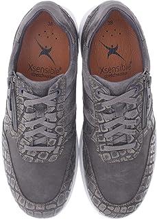 Xsensible Stretchwalker Modell: SWX4 Schwarz Reißverschluss Leder Art: 300843 002 Herren