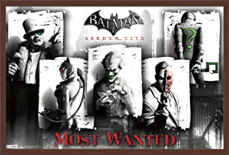 Trends International DC Comics Video Game - Arkham City - Most Wanted Wall Poster, 22.375