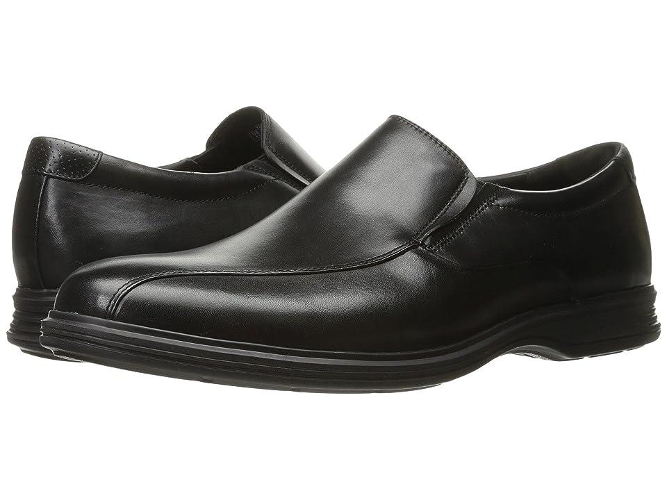 Rockport Dressports 2+ Light Slip On (Black Leather) Men
