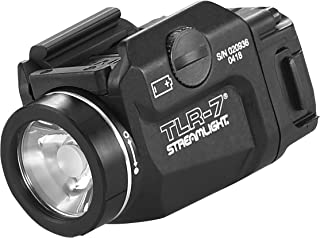 Streamlight 69420 Tlr-7 Low Profile Rail Mounted Tactical Light, Black – 500 Lumens
