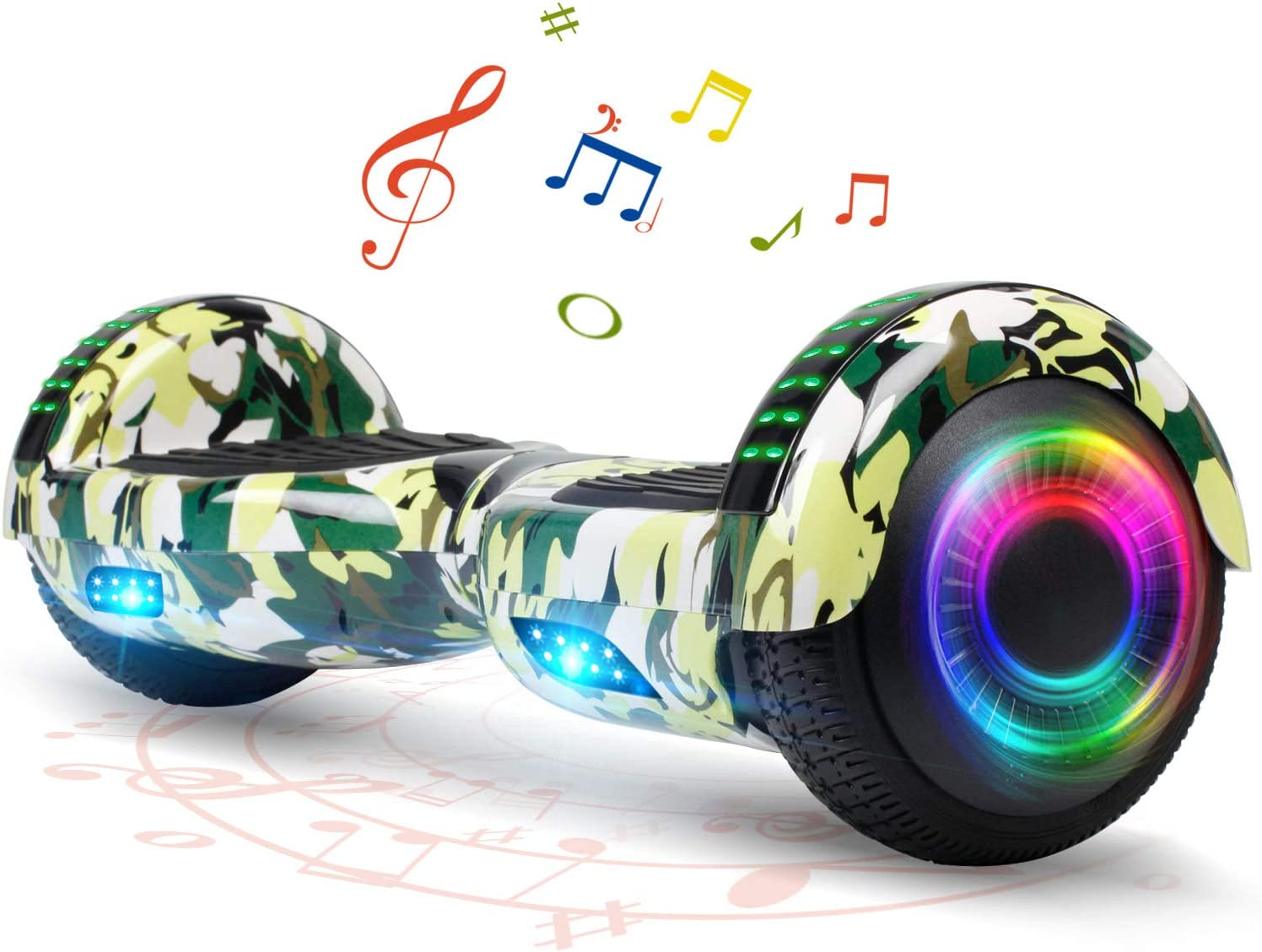 """FLYING-ANT Hoverboard Bargain 6.5"""" Two-Wheel famous w Self Balancing"""