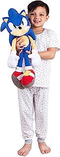 Franco Kids Bedding Super Soft Plush Snuggle Cuddle Pillow Sonic The Hedgehog