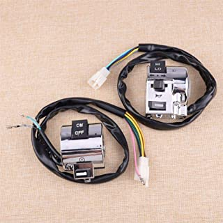 New 1Pair Left $ Right Motorcycle Handlebar Start And Horn Switch Unit Fit For Retro Roller 50&125Cc For Benzhou Znen