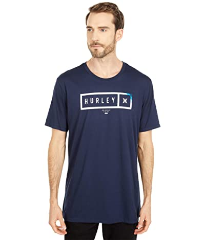 Hurley Bars Short Sleeve (Obsidian) Men