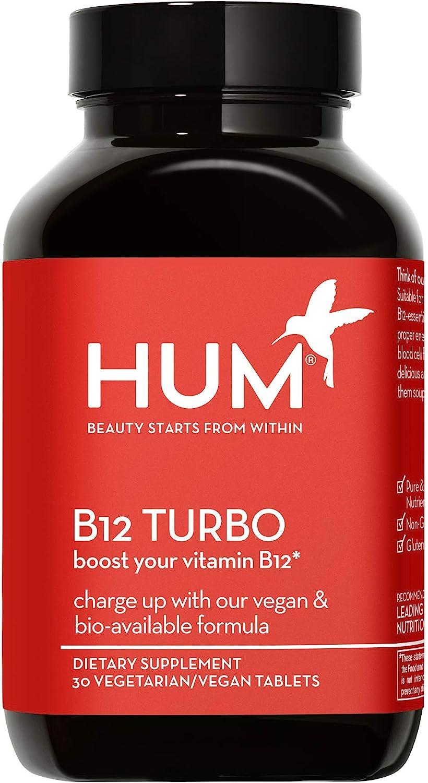 HUM wholesale B12 Turbo - Vegan Daily Vitamins Energy Suppl online shop Supportive
